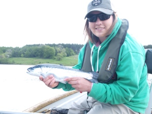 a blue trout from Stocks